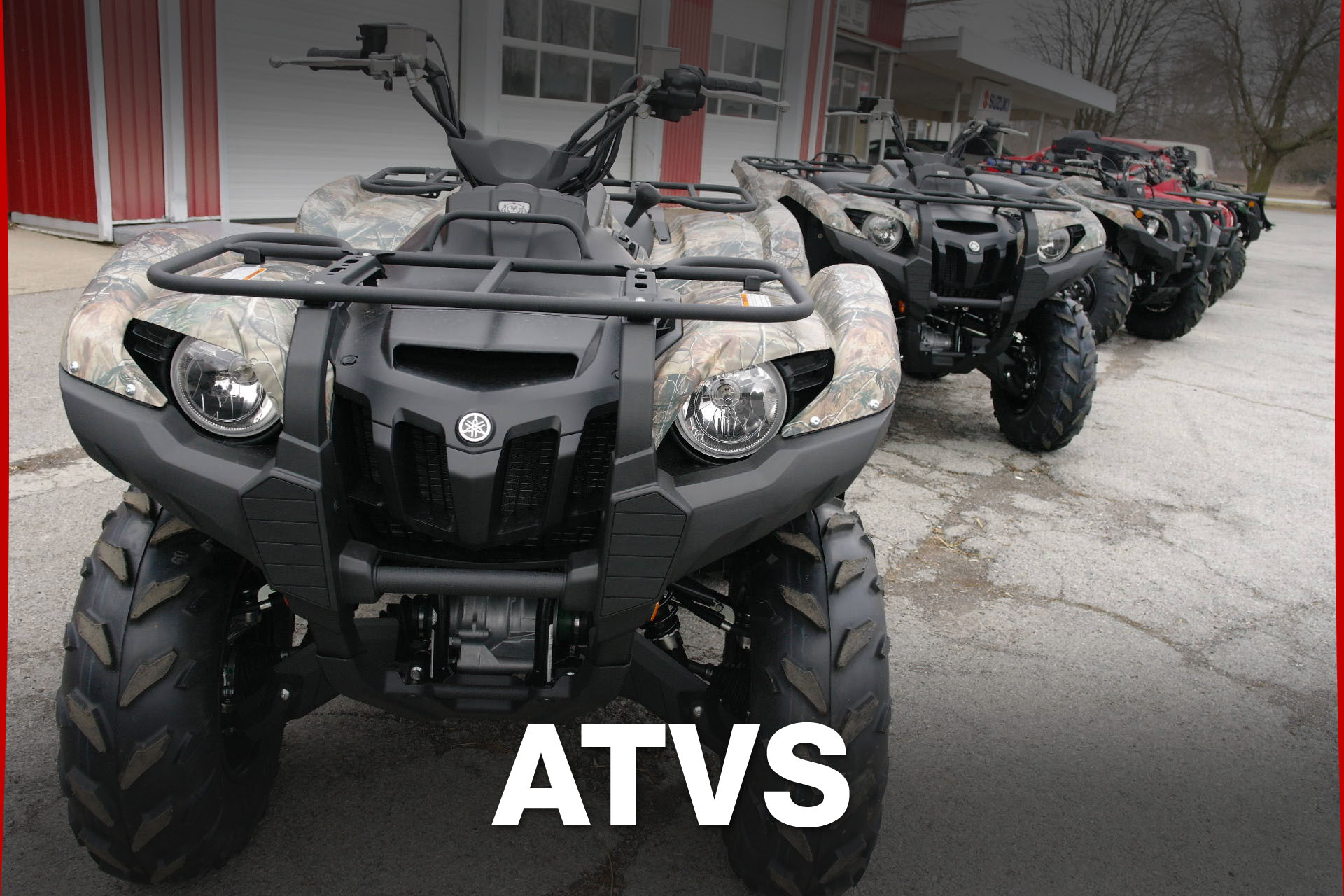 Yamaha ATVs :: Baldwin's Cycle